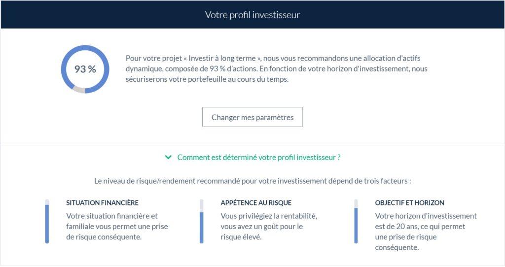 Profil investisseur assurance-vie Nalo